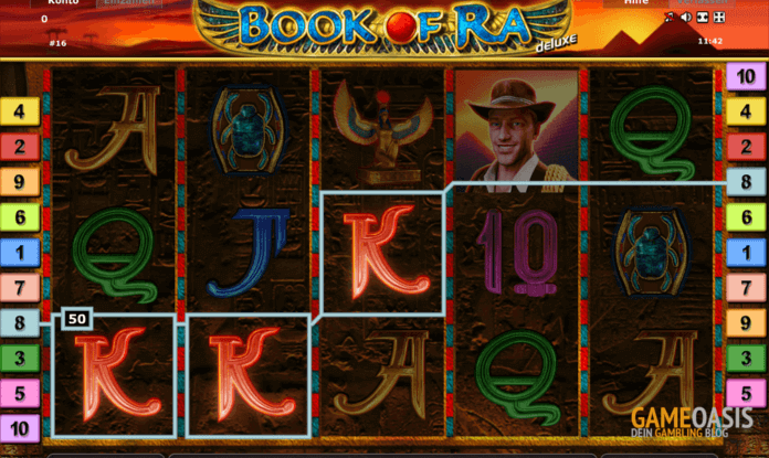 Book of Ra - der populärste Novoline Slot