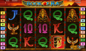 Book of Ra bei Supergaminator