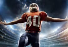 American Football Spieler