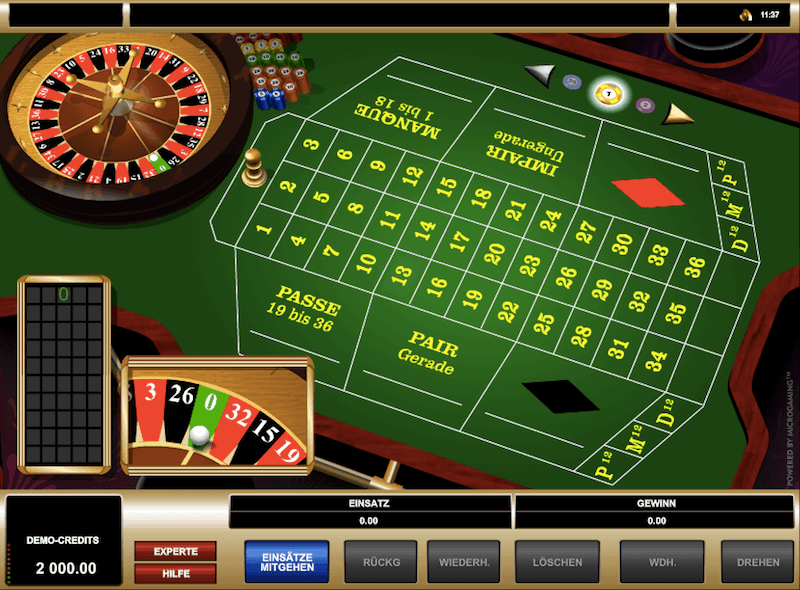 French Roulette Start