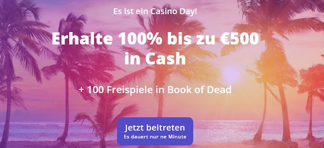 CasinoDays Bonus
